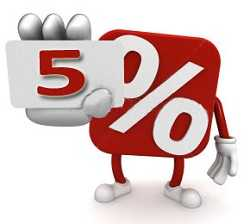mascot offering 5% interest rate