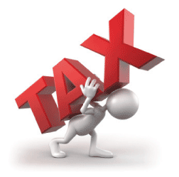 carrying tax burden