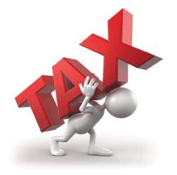 carrying tax burden