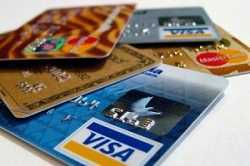 different US credit cards