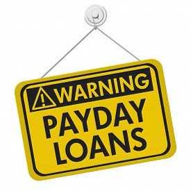 Payday loans warnings