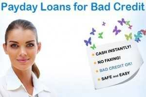 What is a bad credit payday loan?
